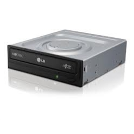 LG Storage GH24NS95B DVDRW 24X SATA without software Black Bare